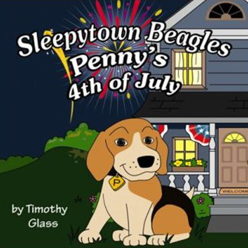 Penny's Fourth of July audiobook cover art