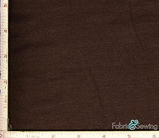 Brown Stretch Knit Jersey Fabric 4 Way Stretch Rayon Spandex 8 Oz 58-60