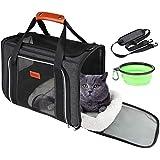 GUIFIER Bolsa de transporte para mascotas, bolsa de transporte portátil con...
