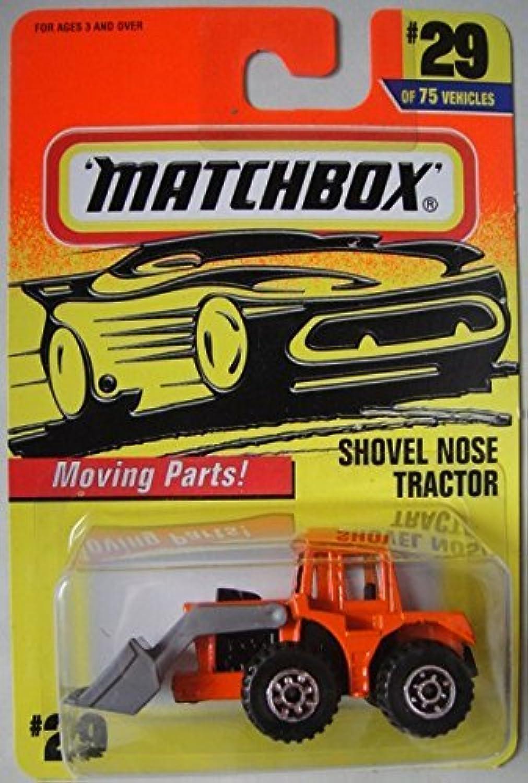 TRACTOR NOSE Orange by MATCHBOX Matchbox 29 SHOVEL MqSVpUz