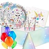 ipt Kit n 4 Sweet Unicorn Coordinato tavola Festa...