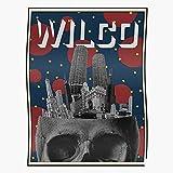 Sweetino Chicago Music Skull Indie Wilco Band Home Decor