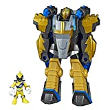 Playskool Heroes Power Rangers Morphin Zords Gold Ranger & Pterazord 3' Action Figures, Collectible Toys for Kids Ages 3 & Up