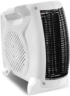 TROTEC Calefactor TFH 19 E 2 velocidades de calor (1 000 W/2 000 W), 2 variantes de instalación - vertical/horizontal