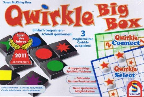 Schmidt 49258 Qwirkle Big Box by Schmidt Spiele