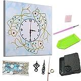 UNBER 5D Montre Mural Horloge muramant Peinture de Diamant Bricolage...