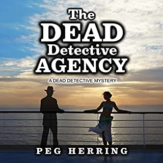 The Dead Detective Agency audiobook cover art
