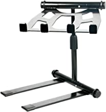 Pyle Portable Folding Laptop Stand – Standing Table with Adjustable Angle, Foldable..