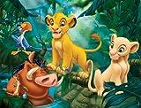 Nathan - 86313 - Puzzle Enfant Classique - Simba & Co. - 30 Pièces