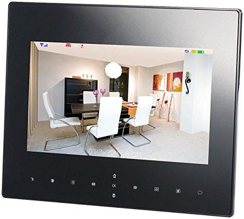 VisorTech Zubehör zu IP Kameras: Überwachungsmonitor DSC-720.mc, 22,8cm (9