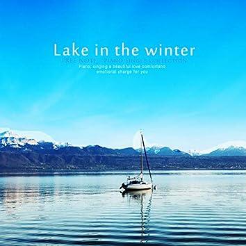 겨울의 호수