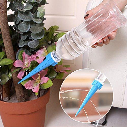 4 stks DIY Automatische Plant Waterer Accessoires Plant Bloem Fles Druppelaar Sprinkler water mondstuk tuingereedschap