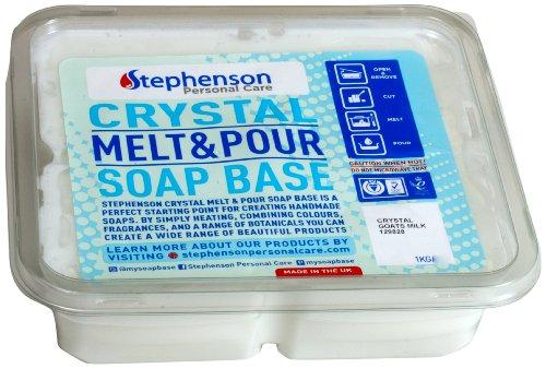 Cybrtrayd Stephenson Kosher Goat's Milk Melt and Pour Soap Base, 2-Pound