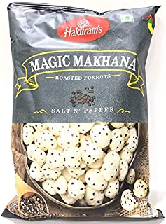 Haldirams Roasted Foxnuts Salt N Pepper - 30 gm