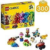 WXX Lego clásico Fundamentos Niños 4+ con Ruedas y Ojos Montaje del Bloque de cumpleaños Conjunto de Juguete