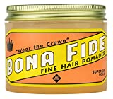 Bona Fide Pomade, Superior Hold, 4 oz.