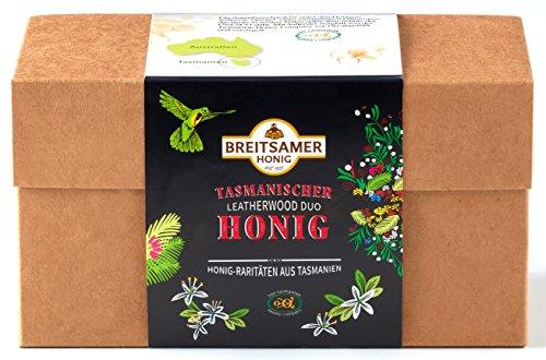 Breitsamer-Honig Tasmanischer Leatherwood im Doppelpack in der Geschenkbox 2x350g