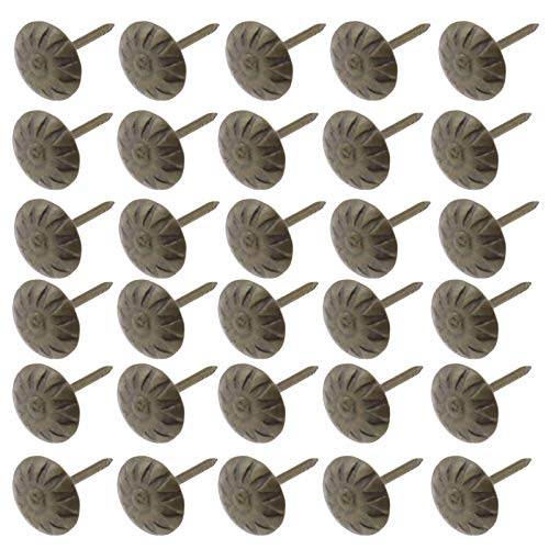 YINETTECH 200 unidades clavos cabeza crisantemo metal