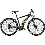Fuji E-Traverse 1.3+ - Bicicletta elettrica INTL 2019, 48 cm, 700c, Colore: Nero Satinato