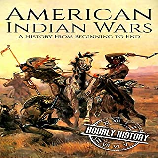 American Indian Wars audiobook cover art