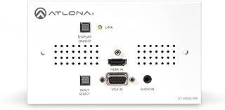 Atlona Technologies at-HDVS-TX-WP HDMI and VGA/Audio to HDBaseT Wall Plate