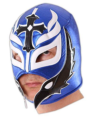 CENO.COM Wrestling Maske Blue Hero Luchator Frei Dusche Masken