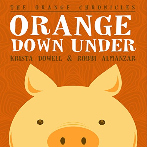 Orange Down Under audiobook cover art