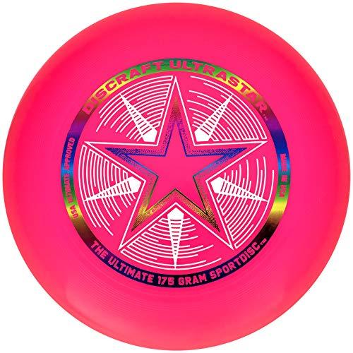 Discraft Ultra Star Sportscheibe, Pink, 175 g