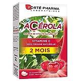 Forté Pharma Acérola Vitamine C 60 Comprimés à Croquer = 2 Mois