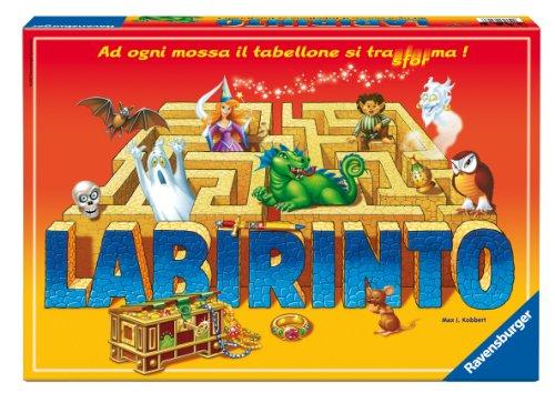 Ravensburger 26447 Labirinto Magico, Gioco di società, 2-4 Giocatori, età Consigliata 7+