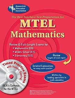 MTEL Mathematics (Fields 09, 047, 053) w/ CD-ROM (MTEL Teacher Certification Test Prep)