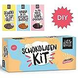 Just Spices DIY Schokoladen Kit | Mit 2x Silikonformen und 11 Gewürzen Schoko Tafeln selber machen | Vegane Box perfekt als Geschenk für Frauen, Männer, Freundin oder Freund