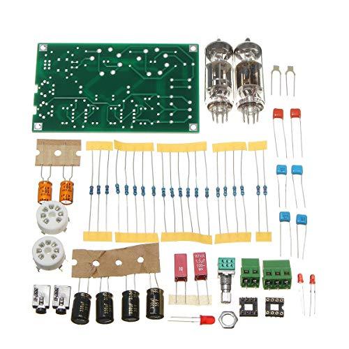 Read About Tube Preamp Preamplifier HiFi Headphone Amplifier Kit DIY Class A 6J5 Vacuum DIY Circuit ...
