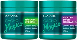 Lowell Cacho Mágico Máscara Umectante + Gelatina Modeladora