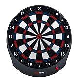 He-art Electronic Dartboard Bluetooth Bullseye Professional Online Gaming Competition Training 6 Safe Soft Darts Game Machine Led Display Bar Sport Dart Board,A