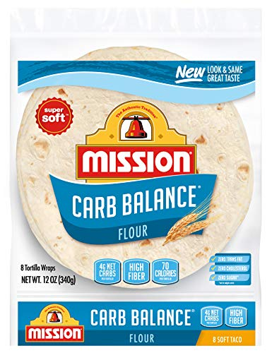 Mission Carb Balance Soft Flour Tortillas - 4g net carbs