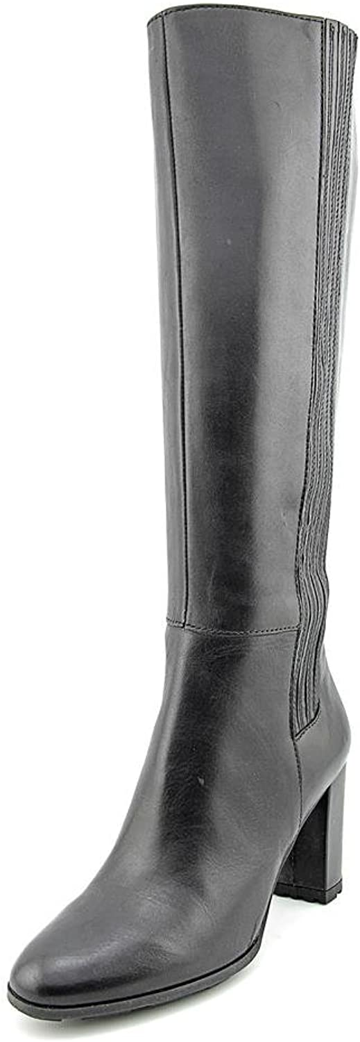 Tahari Pepita Women US 9 Black Knee High Boot