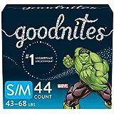 Goodnites Bedwetting Underwear for Boys, S/M, Discreet,...