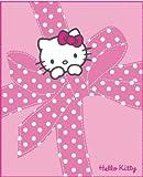 Hello Kitty 38777 - Manta de Forro Polar (130 x 160 cm), diseño, Color Rosa