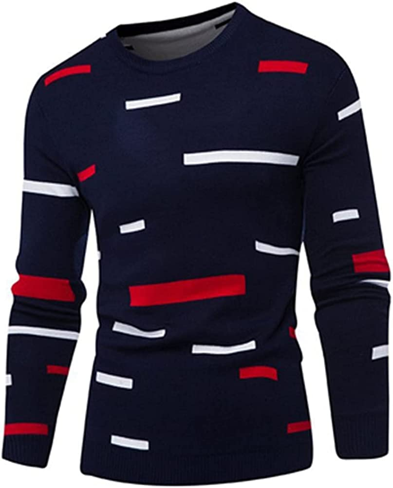N\P Autumn Winter Men's Easy-to-use Sweaters Sports Popular brand in the world Cl Mens Fit Knitted Slim