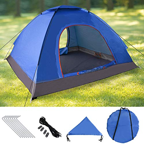 Weeygo Instant Pop Up Tent, Automatic Portable Beach Tent, Outdoor Sun Shelter With Carry Bag Suitable for Family Garden/Camping/Fishing, 200x200x150cm