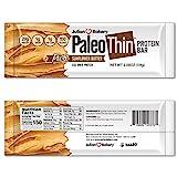 Paleo Thin Protein Bar (Organic Sunflower Butter) (150 Cal, 20g Egg White Protein 5 Net Carbs) (12...