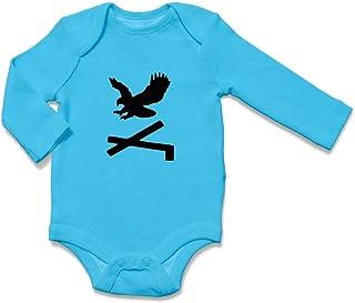 ÜLKÜCÜ Market Baby Body Strampler Babykleidung Neugeborenes Langarm Jungen und Mädchen Adler Cepni Boyu