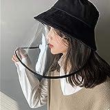 ハット 取り外し可能 紫外線対策 レインハット 漁師帽子 男女兼用 防塵 キャップ UVカット 日よけ帽子