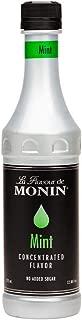 Monin Mint Flavor Concentrate 375ml Bottle