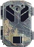 VisorTech Wildcamera: Cámara de Vida Salvaje 4K con Sensor de Movimiento, Vision Nocturna, Pantalla a Color, IP66 (Cámara de Vida Silvestre con Detector de Movimiento)