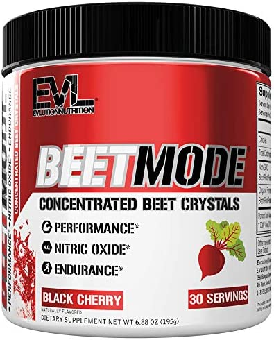 Evlution Nutrition Beet Mode Concentrated Beet Root Crystals Nitric Oxide Booster Natural Circulation product image