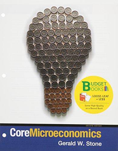 Core Micro 2e Ll&aplia Econ 1s Acs