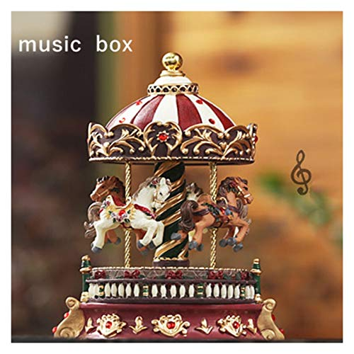 CJshop Round Musical Boxes