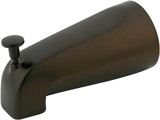 Elements of Design DK188A5 5-1/4 Inch Zinc Tub Spout with Diverter, Oil Rubbed Bronze